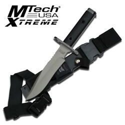 Mtech Usa Xtreme Mx-8077 Fixed Blade Knife 12.5 Overall