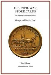 Us Civil War Store Cards Collectors Guide Reference 3rd Edition Hardcover New