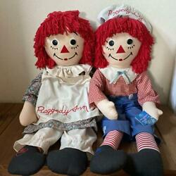 Raggedy Ann And Andy 80th Anniversary 85th Doll Dakin From Japan Fedex No.2119