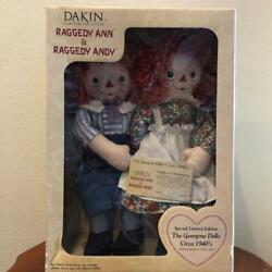 Raggedy Ann And Andy Doll From Japan Fedex No.2143