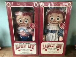 Raggedy Ann And Andy Doll Ragadian From Japan Fedex No.2145