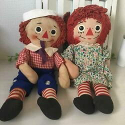 Raggedy Ann And Andy Doll From Japan Fedex No.1972