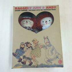 Raggedy Ann And Andy Doll From Japan Fedex No.2091