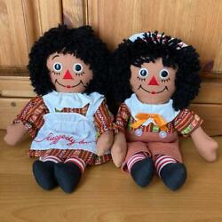 Raggedy Ann And Andy Ethnic Pair Doll American Country Sundry Goods No.2013