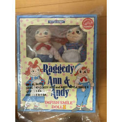 Raggedy Ann And Andy Impish Smile Doll-2 From Japan Fedex No.2021