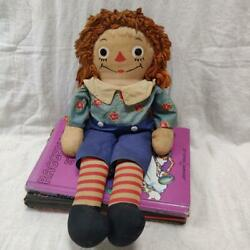 Raggedy Ann And Andy Jozeen Andy Doll Vintage From Japan Fedex No.2156
