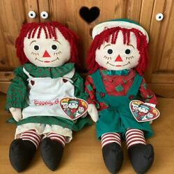 Raggedy Ann And Andy Snowden Pair Doll American Country From Japan Fedex No.2063