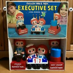 Raggedy Ann And Andy Rare Boxed Stationery Set From Japan Fedex No.2170