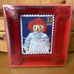 Raggedy Ann And Andy Rare Limit Stamp Doll America Sundry Goods No.2175