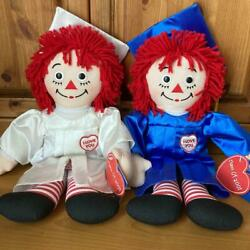 Raggedy Ann And Andy Rare Pair Doll American Country Sundry Goods No.2207