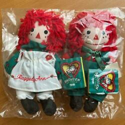 Raggedy Ann And Andy Rare Snowden Pair Doll American Country No.2224