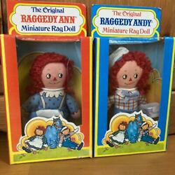 Raggedy Ann And Andy Rare Pair Doll American Country From Japan Fedex No.2206