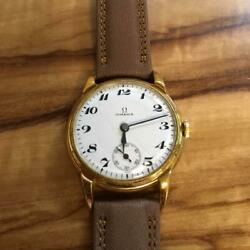 Omega Antique 1930 Horrow Dial Hand-wound From Japan Fedex No.1796