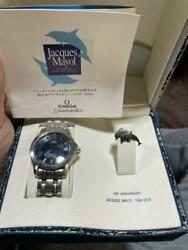 Omega Seamaster Jacques Mailol Limited To 1 500 Pieces From Japan Fedex No.2830