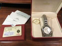Omega Speedmaster Date 351330 Used Watches From Japan Fedex No.2880