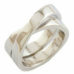 K18wg Ring No.13 53 Paris Silver Women And039s Fashionable No.5488