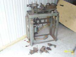 Eguro Small Precision Bench Lathe With Cast Base And Tooling Watchmaker Jeweler