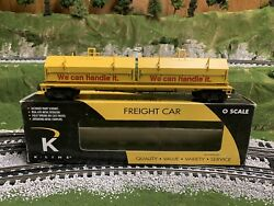 🚂k-line By Lionel Union Pacific Steel Coil Car New Mill O Scale Train Up