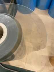 Reels Of Clear Pvc 421mm Wide 0.525mm Thick 130 Reels