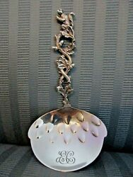 And Co Squirrel Nut Bon Bon Spoon Sterling Silver 3d Figural Aesthetic