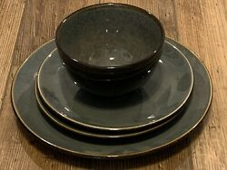 Threshold Belmont - Gray Noodle Bowl And Plates -- 4 Pieces