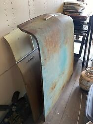 1958 58 Vintage Chevy Impala Car Hood Part Factory Oem 50and039s 1950and039s Trunk