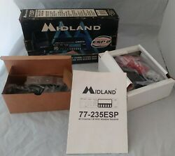 Midland Cb Radio-new- Model 77-235esp 40 Channel With Weather Channels