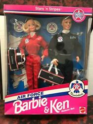 Barbie And Ken Doll Figure Free Shipping No.9366