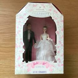 Barbie Wedding Day Ken And Ornament Doll From Japan Fedex No.2974