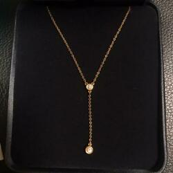 And Co. End Of Production By The Yard Diamond Necklace Swaying No.4602