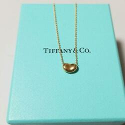 And Co. Necklace Co. Bean Gold Free Shipping No.6750