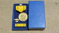 Ww2 Us Army Military American Defense Campaign Award Medal