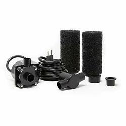 Beckett Corporation 800 Gph Submersible Pond And Waterfall Pump With Filters ...