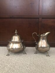 And Co Custom Design Sterling 925 23750 Creamer And Sugar Bowl