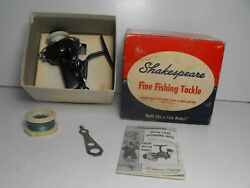 Shakespeare 2052 Nl-2 Usa Made Spinning Reel Exc. Cond. In Box W/ Tool And Manual