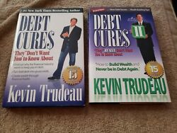 Lot 2 Kevin Trudeau Finance Books Debt Cures 1 And 2 Hardcover