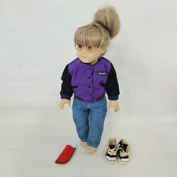 Vintage Pleasant Co. American Girl With Clothes Glasses