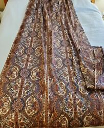 Rare Vintage Pair Of Atelier Martex Liberty Of London Curtains