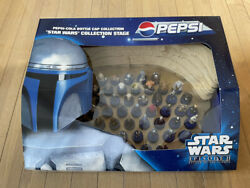 Pepsi X Star Wars Episode 2 Bottle Cap Collection Stage + Cap Full Complete