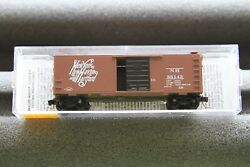 Micro Trains N Scale 40' Box Car New York, New Haven And Hartford 20029 T12