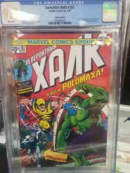Hulk 181 First Appearance Wolverine Cgc 9.9 Not 9.8. In Hand Us Seller Russian