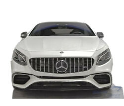 Mercedes-benz S-class Coupe C217 Grille Gt R Amg Style 2014 2015 2016 2017