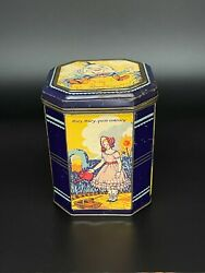 Chiltonian Biscuits Nursery Rhymes Tin C.1930's
