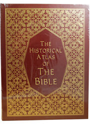 New Easton Press Ian Barnes Historical Atlas Bible Limited Edition Leather Bound