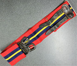 Vintage Rhodesian Army Corps Of Artillery Uniform Stable Belt