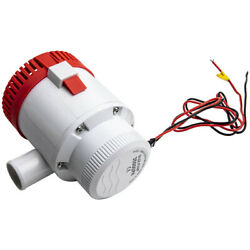 3500 Gph 12v 12a Submersible Electric Bilge Pump For Marine Boat Yacht