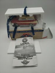 Lionel 68 Post-war Executive Inspection Car With Original Box And Insert