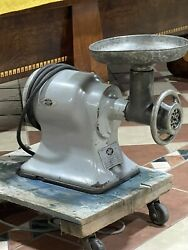4312 Hobart Table Top Meat Grinder 1 Phase Used And Tested 1/3 Hp