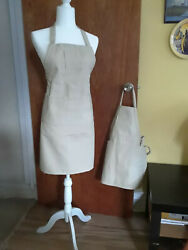 2 Matching Aprons Adult+kidchoose Sizetype Of Fabric And Colors