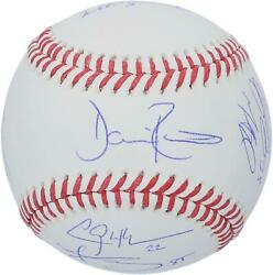 Dodgers 2020 Ws Champs Signed Ws Logo Baseball And At Least 6 Signatures - 220/220